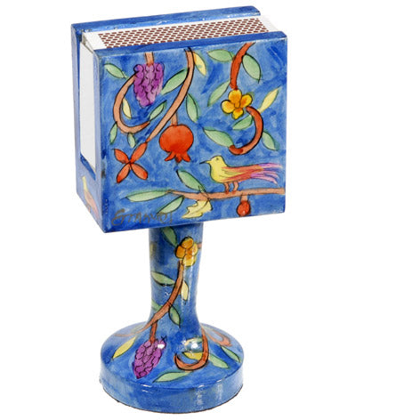 Matchbox Holder & Stand - Oriental