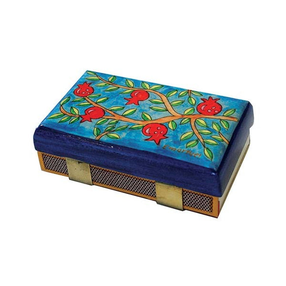 Match Box Holder - Kitchen Size - Pomegranate