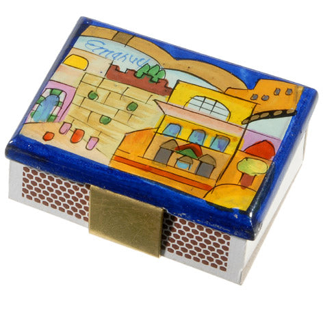 Match Box Holder - Small - Jerusalem