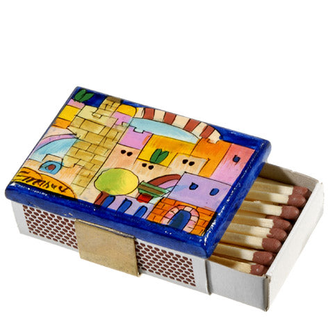Match Box Holder - Small - Jerusalem II
