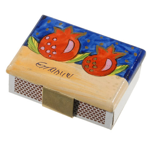 Match Box Holder - Small - Pomegranate II