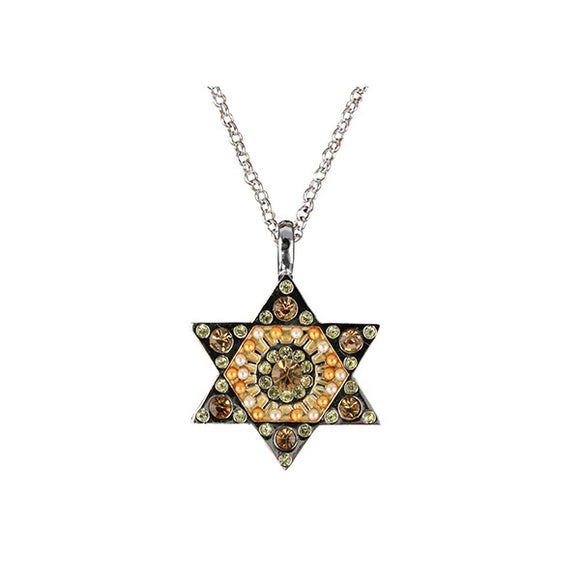 Necklace - Magen David - Gold