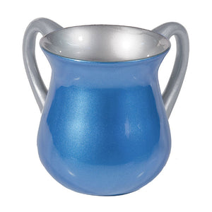 Netilat Yadayim Cup - Special Coating - Blue
