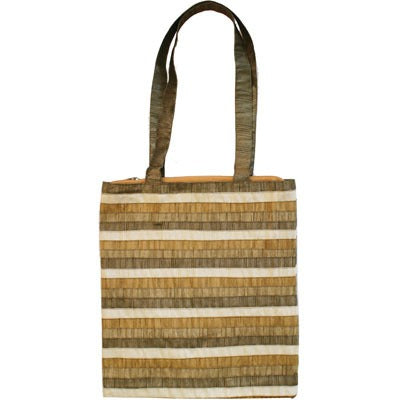 Bag - Stripes - Gold