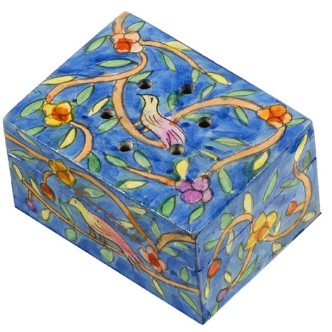 Spice Box - Hand Painted - Oriental