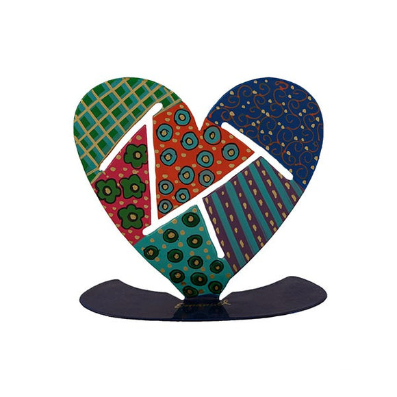 Stand - Small - Hand Painted - Heart