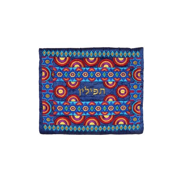 Tefillin Bag - Full Embroidery - Multicolored II