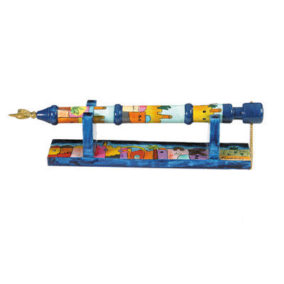 Wooden Torah Pointer - Jerusalem