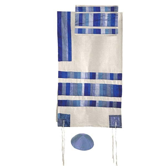 Appliqued Tallit & Stripes - 20
