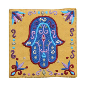 Wall Hanging - Small Hamsa - Gold