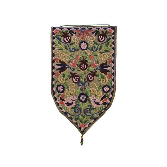 Wall Hanging - Special Shape - Large Pomegranates Gold