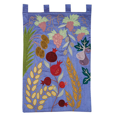 Wall Hanging - xL - Seven Species - Blue