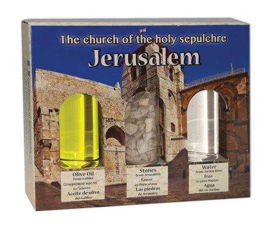 Holy land Gift Pack - Church of the Holy Sepulchre - The Peace Of God