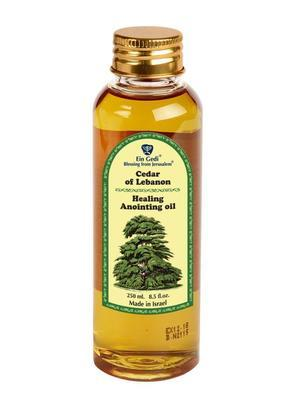 Anointing Oil PET - Cedar of Lebanon 250 ml - The Peace Of God