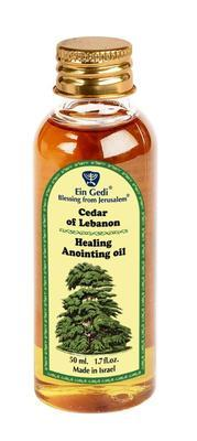 Anointing Oil PET - Cedar of Lebanon 50 ml - The Peace Of God