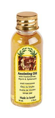 Anointing Oil PET - Frankincense, Myrrh and Nard 30 ml - The Peace Of God