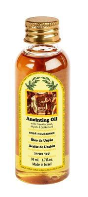 Anointing Oil PET - Frankincense, Myrrh and Spikenard 50 ml - The Peace Of God