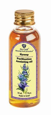 Anointing Oil PET - Hyssop 50 ml - The Peace Of God