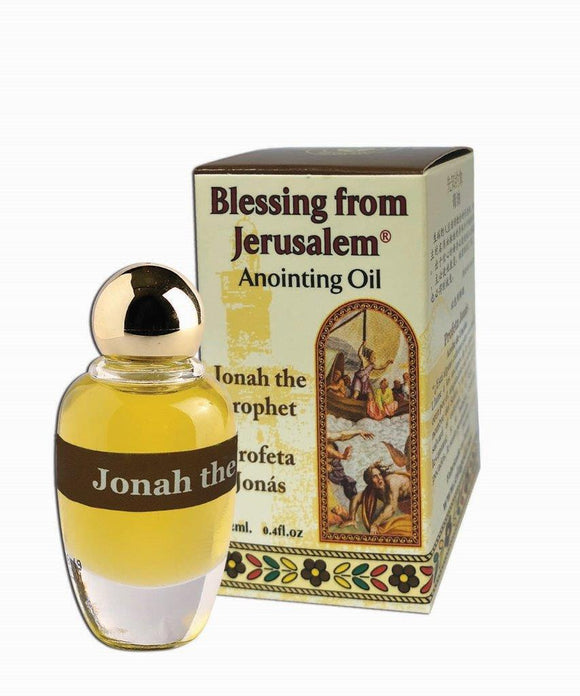 Blessing From Jerusalem Anointing Oil - Jonah the Prophet 12 ml - The Peace Of God