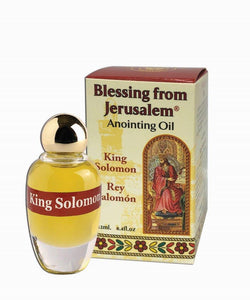 Blessing From Jerusalem Anointing Oil - King Solomon 12 ml - The Peace Of God