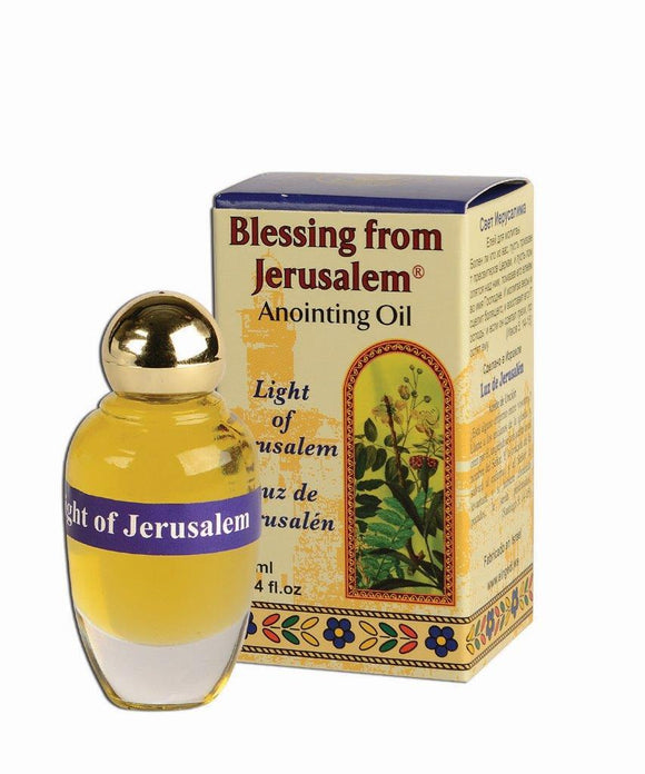 Blessing From Jerusalem Anointing Oil - Light of Jerusalem 12 ml - The Peace Of God