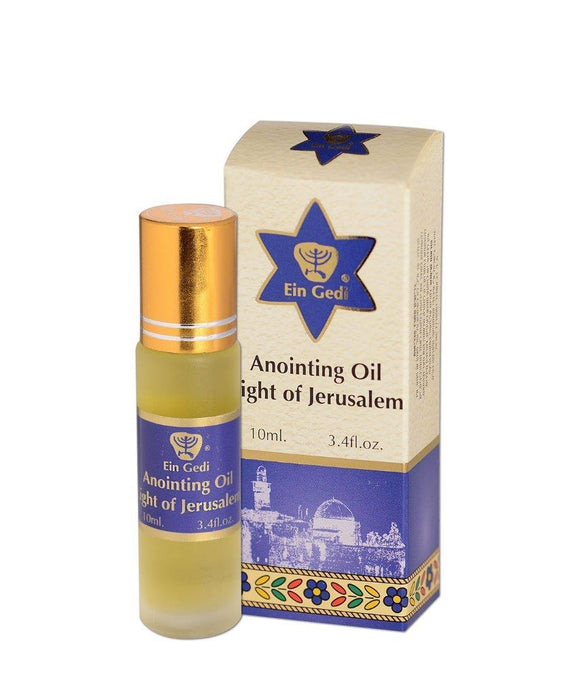 Roll-on Anointing Oil - Light of Jerusalem 10 ml - The Peace Of God