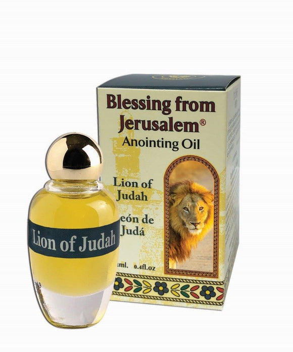 Blessing From Jerusalem Anointing Oil - Lion of Judah 12 ml - The Peace Of God