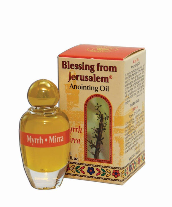 Blessing From Jerusalem Anointing Oil - Myrrh 12 ml - The Peace Of God