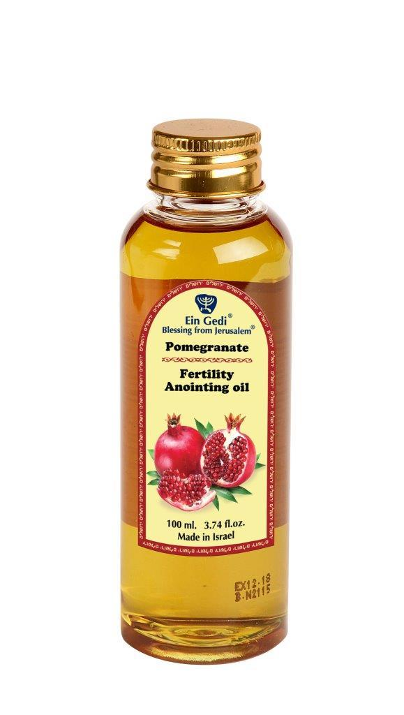 Anointing Oil PET - Pomegranate 100 ml - The Peace Of God