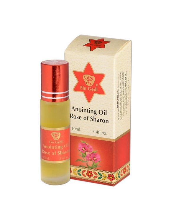 Roll-on Anointing Oil - Rose of Sharon 10 ml - The Peace Of God