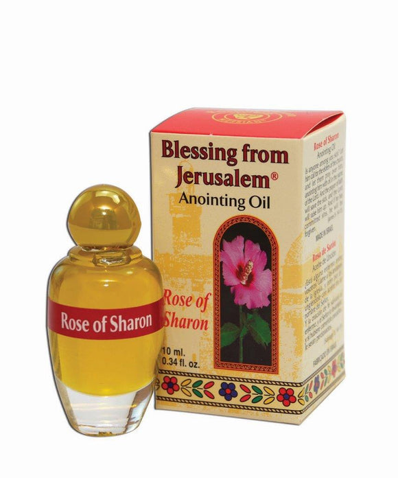 Blessing From Jerusalem Anointing Oil - Rose of Sharon 12 ml - The Peace Of God
