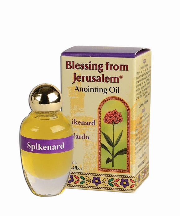 Blessing From Jerusalem Anointing Oil - Spikenard 12 ml - The Peace Of God