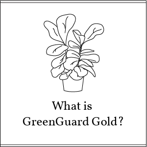 what is greenguard gold button