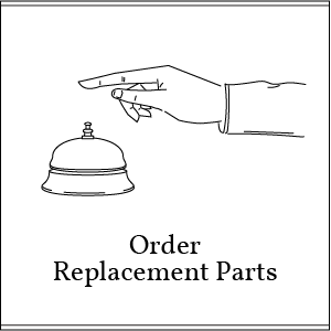 order replacement parts button