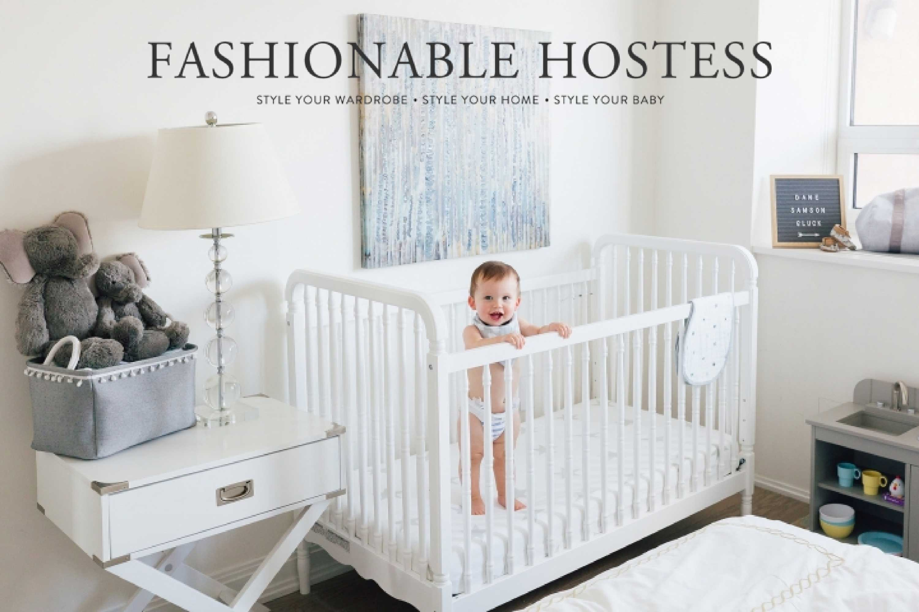 fashionable hostess, liberty 3-in-1 crib