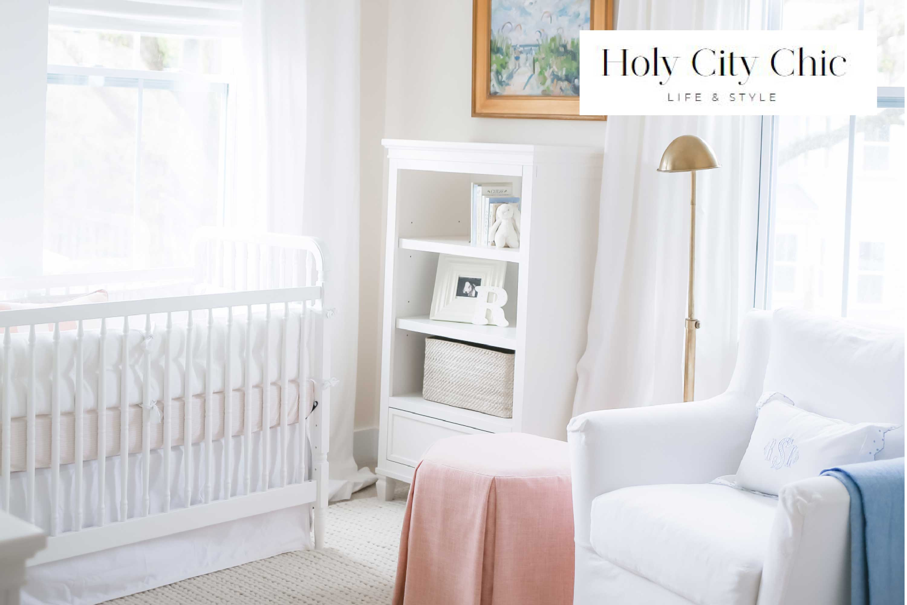 Holy City Chic, Rosie's Cozy and Serene Nursery