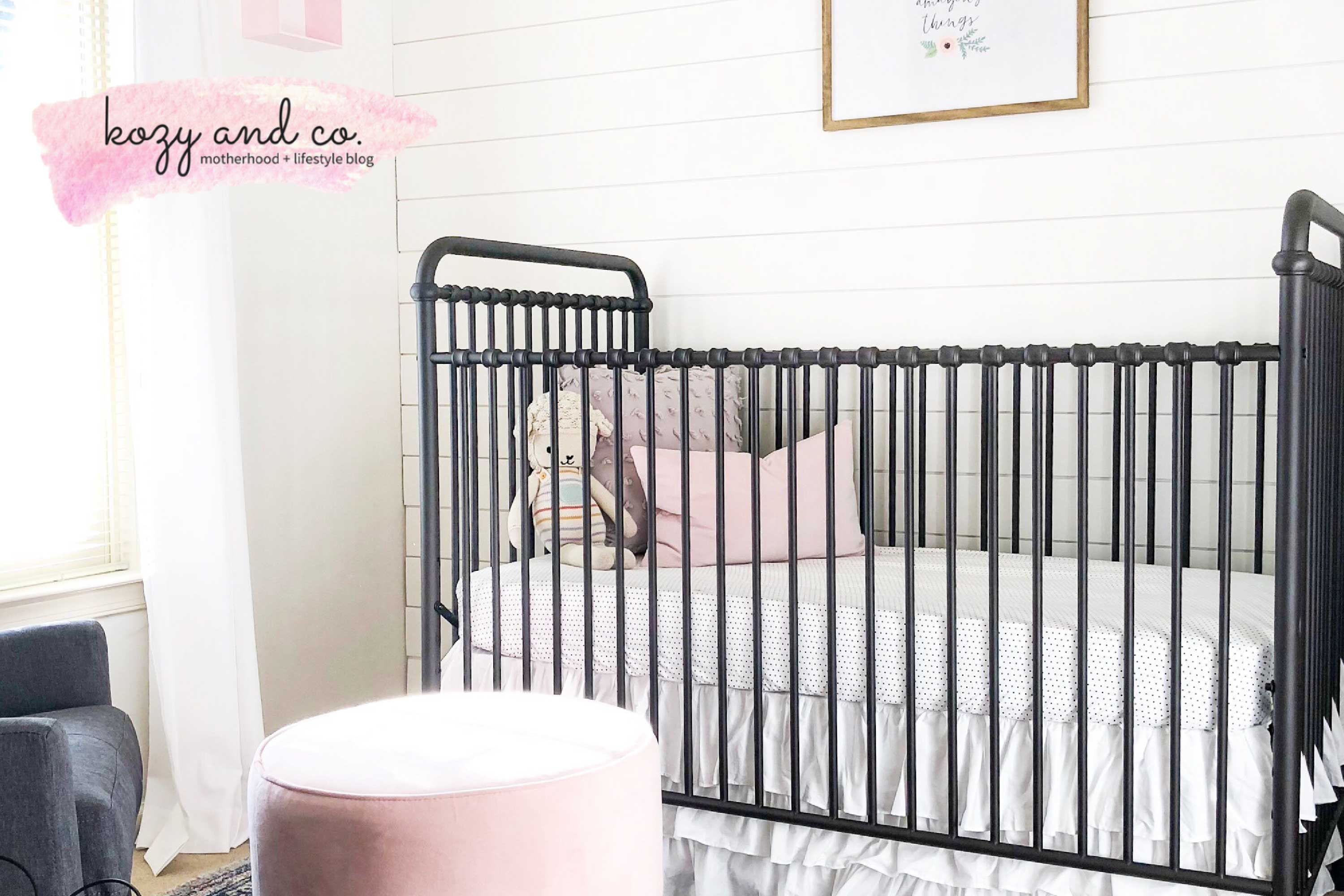 kozy and co, abigail 4-in-1 crib