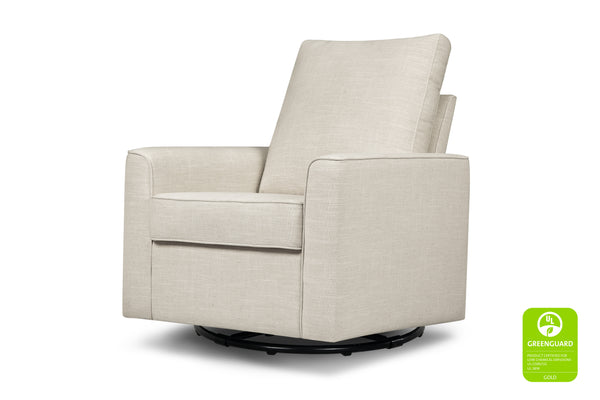 Alden Swivel Glider-Glider-Million Dollar Baby Classic-Grey Tweed-Million Dollar Baby Classic White Linen