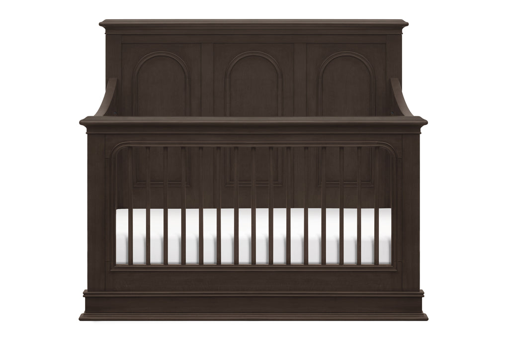 M20401BS,Rhodes 4-in-1 Convertible Crib in Brownstone