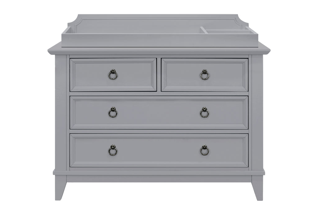 M10719G,Emma Regency Removable Changing Tray in Grey