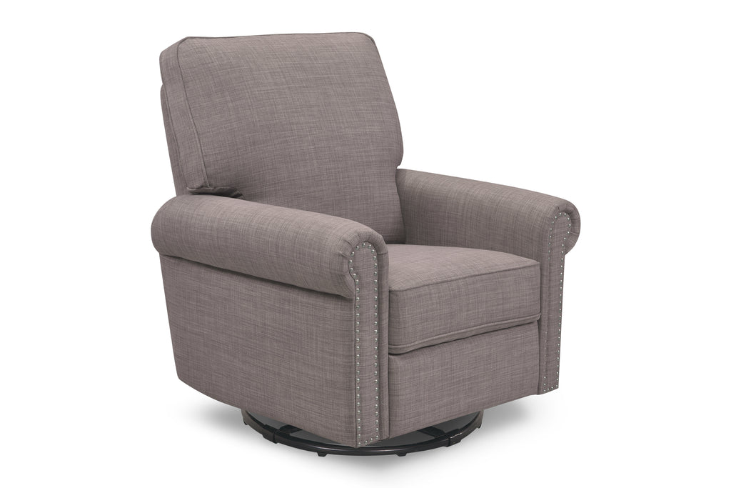 M19287FTGRY,Linden Power Recliner in Grey Tweed