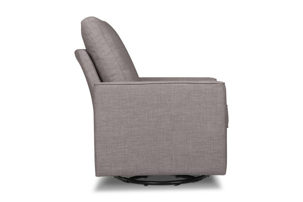 M17288FTGRY,Alden Swivel Glider in Steel Grey Tweed