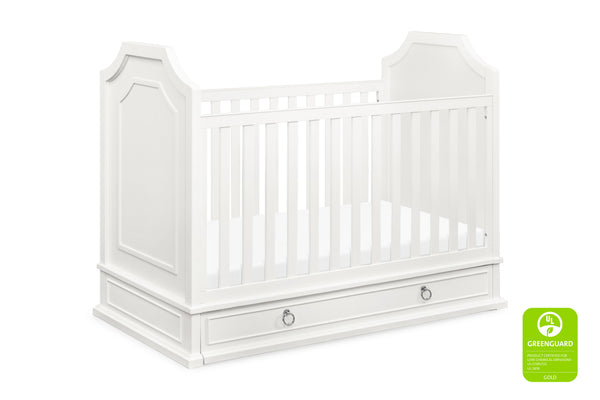 million dollar baby classic emma regency 3-in-1 greenguard convertible crib Warm White