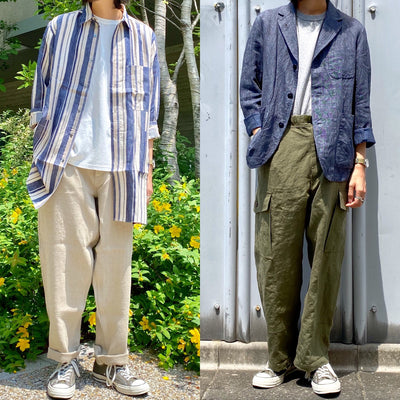 《MADE IN JAPAN》20SS MAIN LINE リネンシリーズ