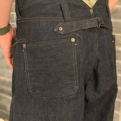 武骨な存在感を放つ DENIM STYLE / RAILMAN DENIM PANT -WIDE-