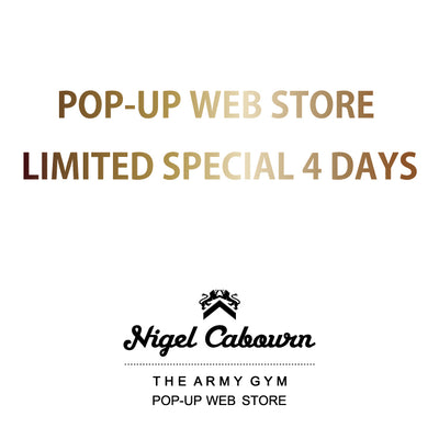 POP-UP WEB STORE LIMITED SPECIAL 4 DAYS!!第一弾いよいよスタートします!!