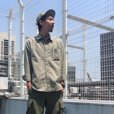 WELDER POCKET OX SHIRT〈カタログ非掲載〉