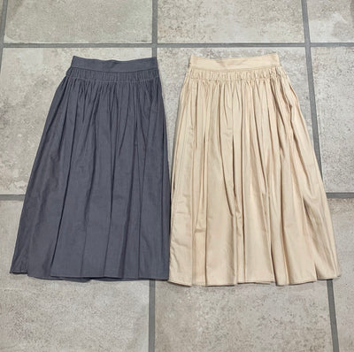 KAPOK PLEATS SKIRT