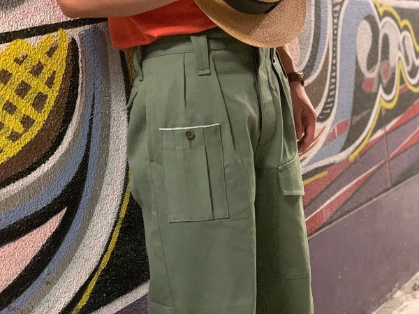 BRITISH ARMY PANT(VINTAGE TWILL)