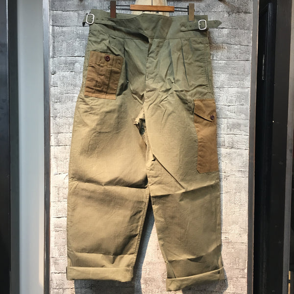 ARMY BUCKLE PANT RIPSTOP ①
